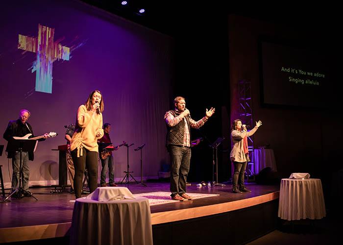 worship stage